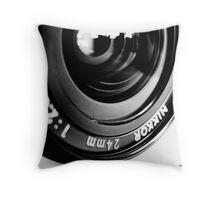 Nikkor 24mm f2.8 Throw Pillow