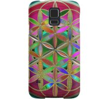 The Flower of Living Metal Samsung Galaxy Case/Skin