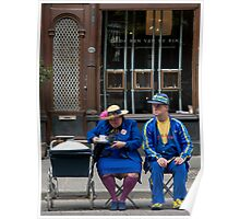 Waiting for the parade Poster