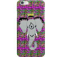 Elephant Wearing A Crown iPhone Case/Skin
