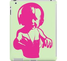 Headphones - Magenta iPad Case/Skin