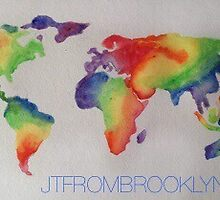 WATERCOLOR WORLD by jtfrombroooklyn