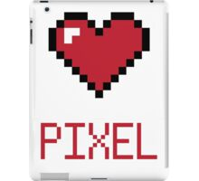 LOVE PIXEL iPad Case/Skin