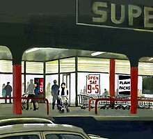 Superlight - After Dark at the Supermarket by Patricia Howitt