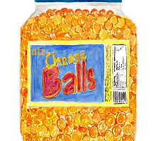 Utz Cheese Balls by pickledbeets