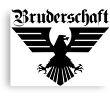 Brotherhood Eagle (Bruderschaft Bundesadler) - Black/Schwartz Canvas Print