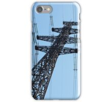 pylon power line iPhone Case/Skin