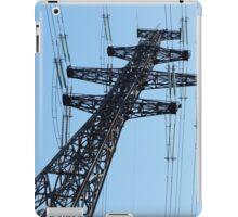 pylon power line iPad Case/Skin