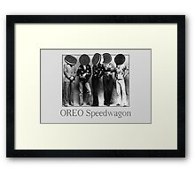 OREO Speedwagon Framed Print