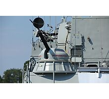 rapid fire cannon Photographic Print