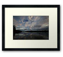 Archer river Framed Print