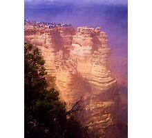 Human Lemmings, Grand Canyon South Rim Photographic Print