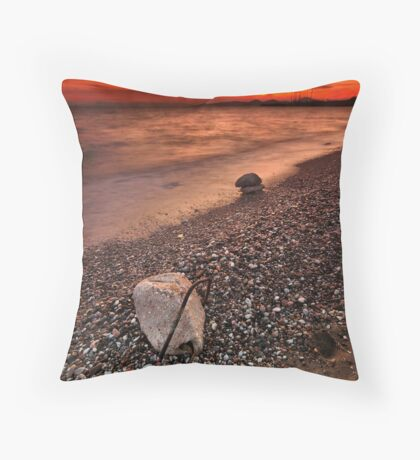What is left behind Throw Pillow