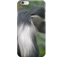 Angola Colobus iPhone Case/Skin