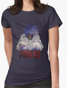 Death Note - L - Typography Womens Fitted T-Shirt