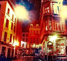 Antwerpen cafe by Yukska