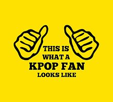 A KPOP FAN LOOKS LIKE - YELLOW by Kpop Seoul Shop