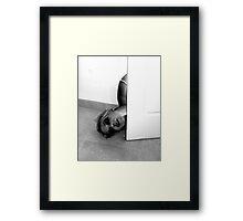 Dead by the door... Framed Print