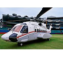 Sikorsky S-92 … Parked @ The Wanderers Cricket Stadium Photographic Print