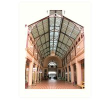 Arcade in Charters Towers Art Print