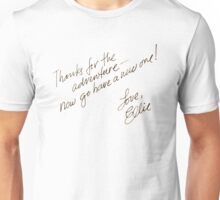 Thanks for the adventure Unisex T-Shirt