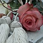 Roses and Tassels by Sandra Foster