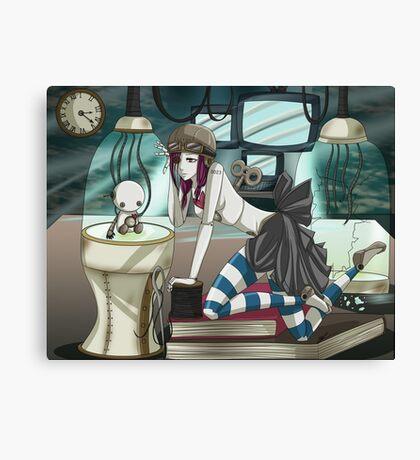 Clockwork Doll  Canvas Print