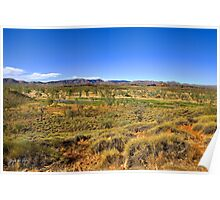 West MacDonnell Ranges - Mt Sonder Valley Poster