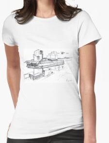 Pontiac Hover Star Chief Womens Fitted T-Shirt