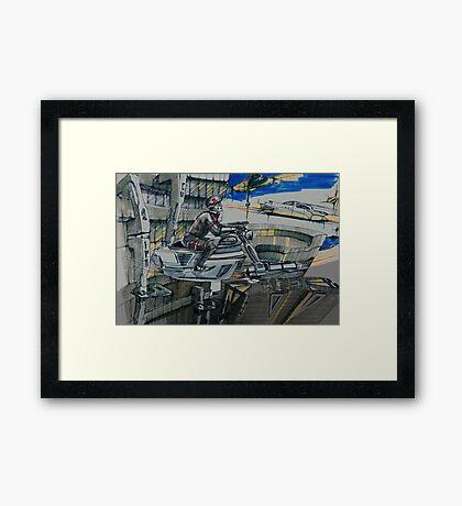 StarManx Framed Print