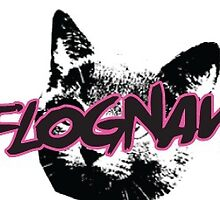 FLOGNAW cat logo by Arriettyx