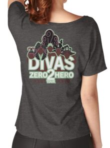 DIVAS - Zero 2 Hero Tour Women's Relaxed Fit T-Shirt