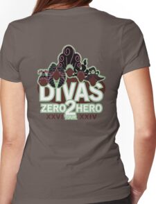 DIVAS - Zero 2 Hero Tour Womens Fitted T-Shirt