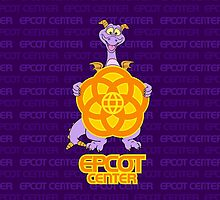 Purple EPCOT Figment by Jou Ling Yee