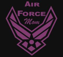 AIR FORCE MOM by mccdesign
