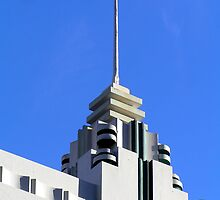 Art deco building by Christopher Biggs