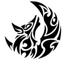 Wolf Geometric tattoo style by Arriettyx