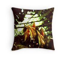 little birdies Throw Pillow