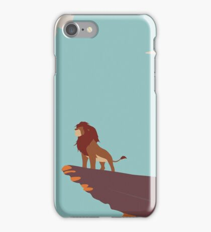 Pride Rock Poster iPhone Case/Skin