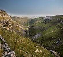 Above Malham Cove by eddiej