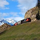 Train Through the Canadian Rockies by Robert Goulet