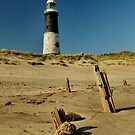 Spurn Point Lighthouse by Sarah Couzens