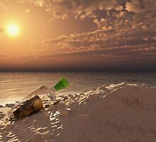 message in a bottle by Cheryl Dunning