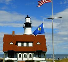 Portand Head Light ~ Part Three by artisandelimage