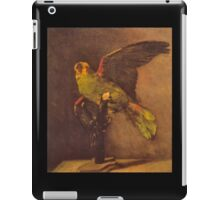 'Parrot' by Vincent Van Gogh (Reproduction) iPad Case/Skin