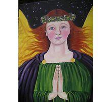 Archangel Raphael Photographic Print