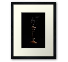 Out Like a Candle Framed Print