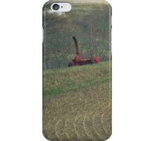 Farming and plowing time again iPhone Case/Skin