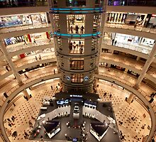 Inside Petronas Shopping Mall KLCC Malaysia by MiImages
