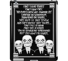 Hush - Buffy the Vampire Slayer iPad Case/Skin